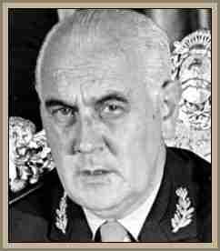 presidente de la junta militar argentina