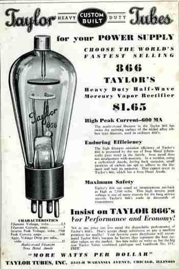 publicidad antigua valvula electronica