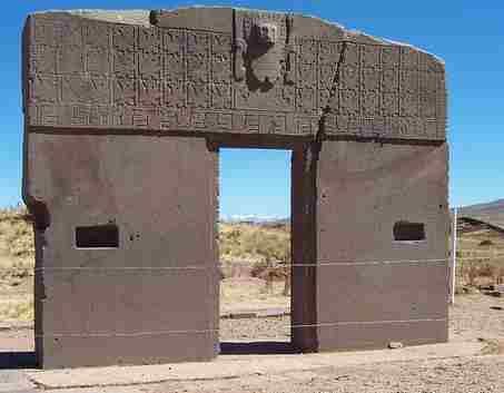 escultura, Pueta del Sol, Tihuanaco