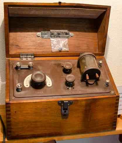 antigua radio a galena