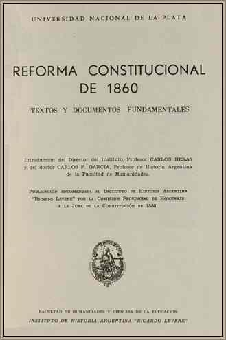reforma constitucion 1860