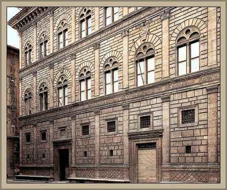 arquitectura El palacio Rucellai