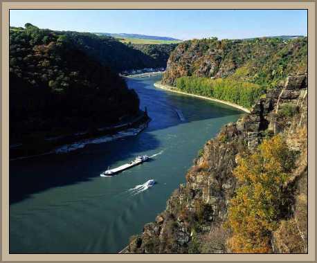 vista rio rin en alemania