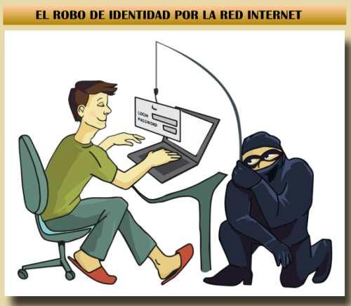 robo de identidad por internet