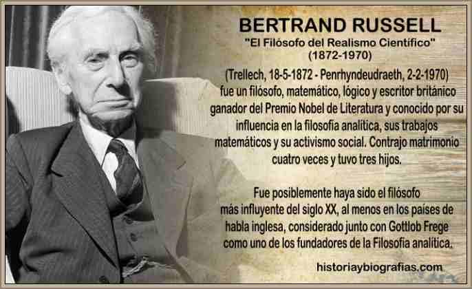 Biografia de Bertrand Russell – Filosofía e Ideas Sobre la ...