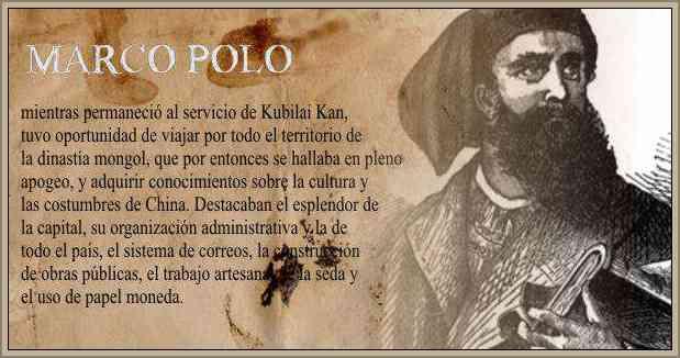 Biografia de Marco Polo Vida y Ruta de sus Viajes a Oriente ...
