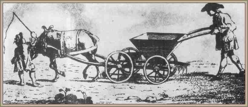 historia de la sembradora