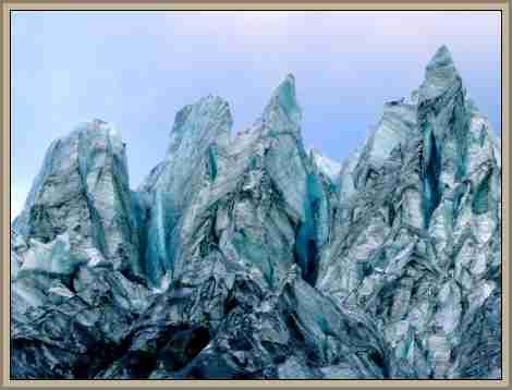 seracs: morfologia terrestre