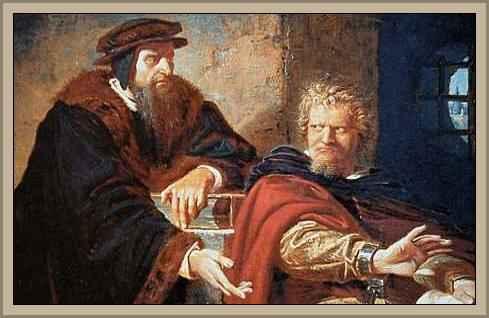 Biografía de Miguel Servet, Condenado a la Hoguera Por la Inquisicion