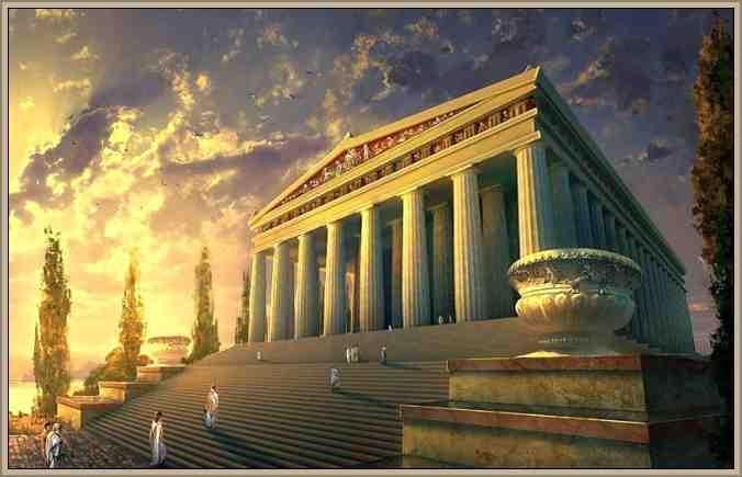 templo de efeso maravilla del mundo
