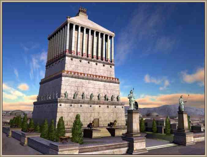 templo halicarnaso maravilla del mundo
