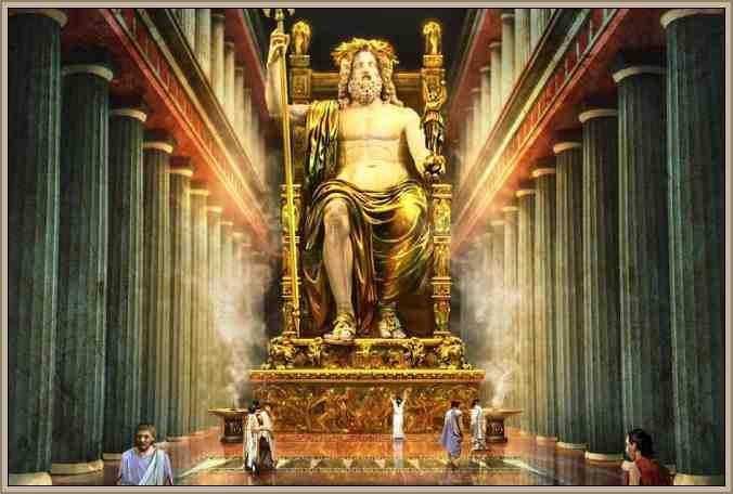 TEMPLO ZEUS Olimpia maravilla del mundo
