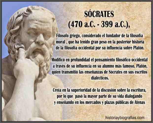 Biografia de Socrates – Vida del Filosofo Griego