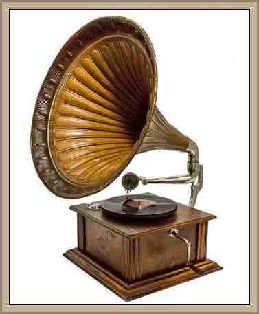 gramófono Historia de la Grabacion del Sonido