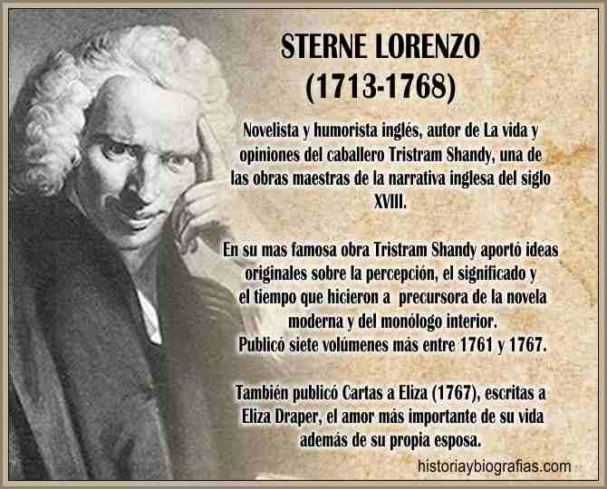 biografia de Sterne Laurence