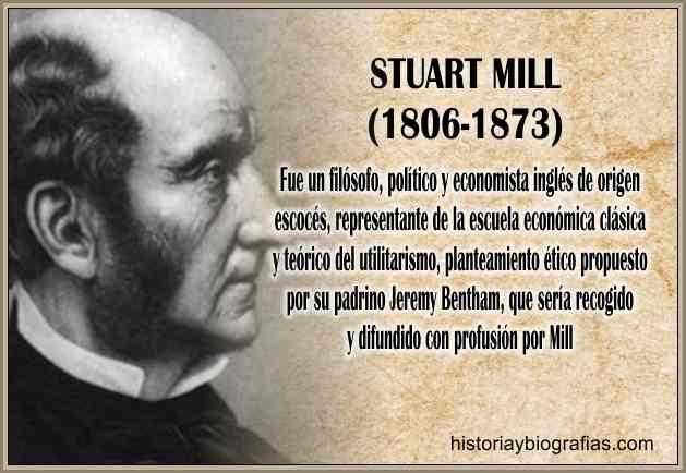 Biografia de Stuart Mill