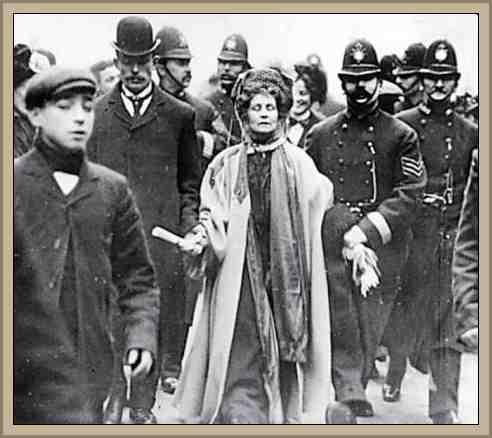 Pankhurst Emmeline  sufragista britanica