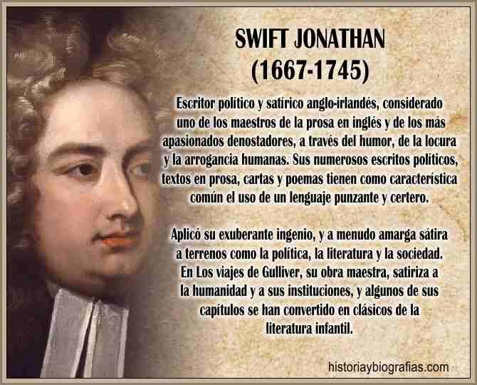 Biografia de Swift Jonathan Escritor