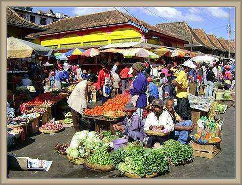mercado de tananatrive