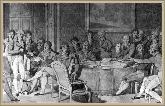 la restauracion de 1815 en europa