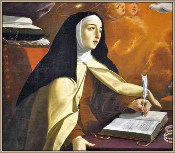 Biografia De Santa Teresa De Jesus Resumen