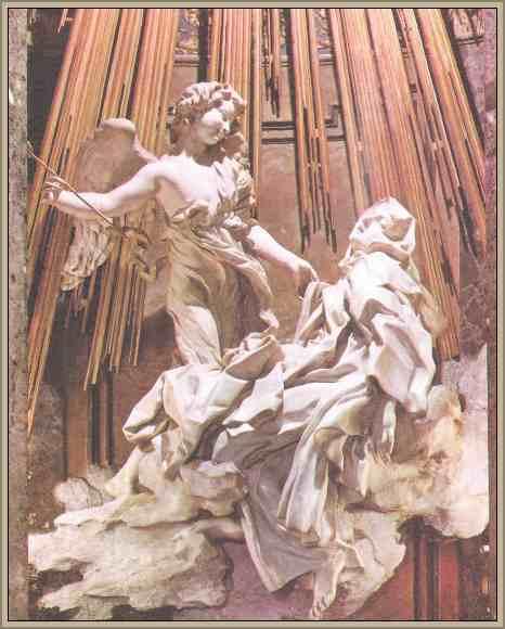 obra de bernini teresa de jesus