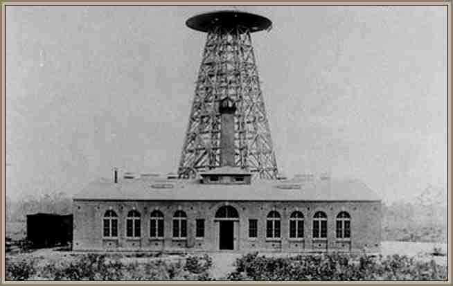 Tesla nikola Torre