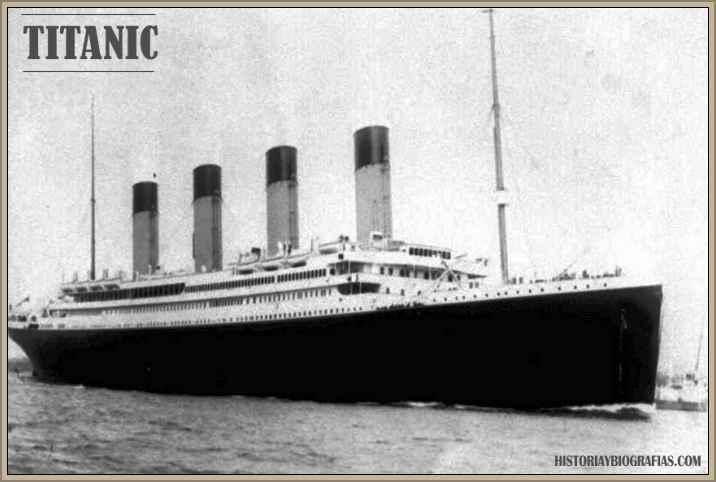 historia del hundimiento TITANIC