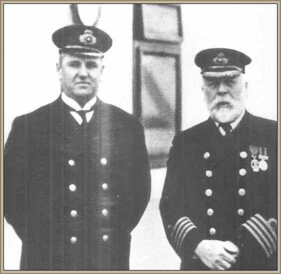 capitan del barco titanic