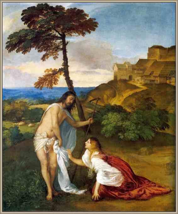 tiziano pintor renacentista