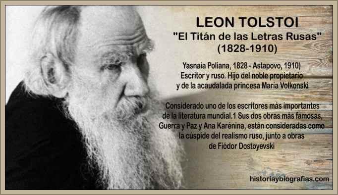 leon tolstoi escritor ruso