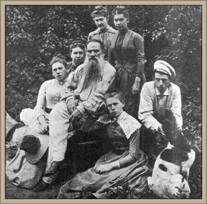 familia de tolstoi