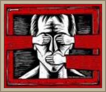 censura y represión violacion derechos humanos