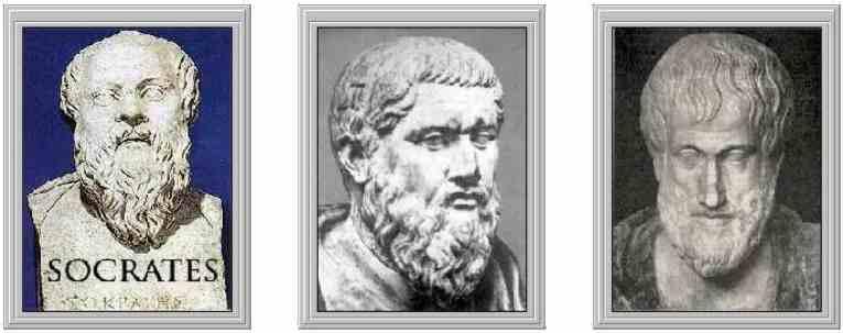 Sócrates, Platón y Aristoteles: Filosofos Griegos Mas Importantes