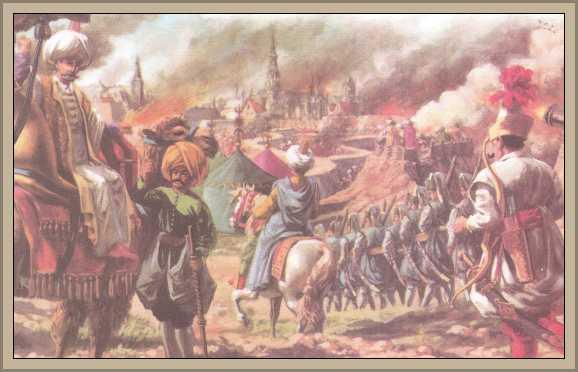 Turcos atacan Viena