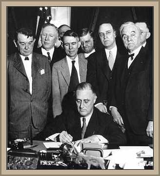 Roosevelt  presidente de ee.uu.