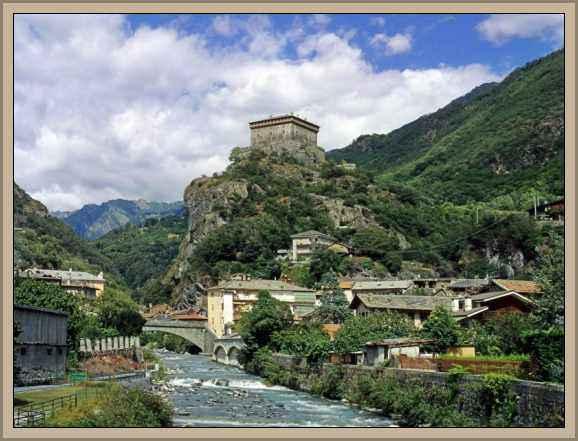 valle de aosta en Italia