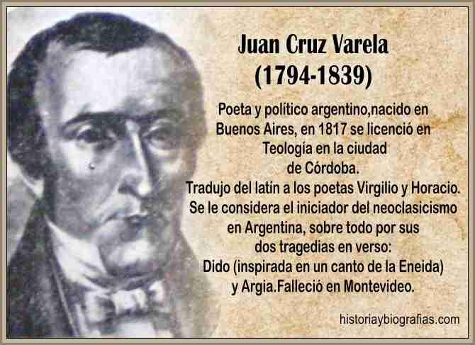 Biografia de Varela Juan Cruz