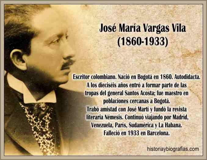 Biografia Jose Maria Vargas Vila Obra Literaria del Filosofo