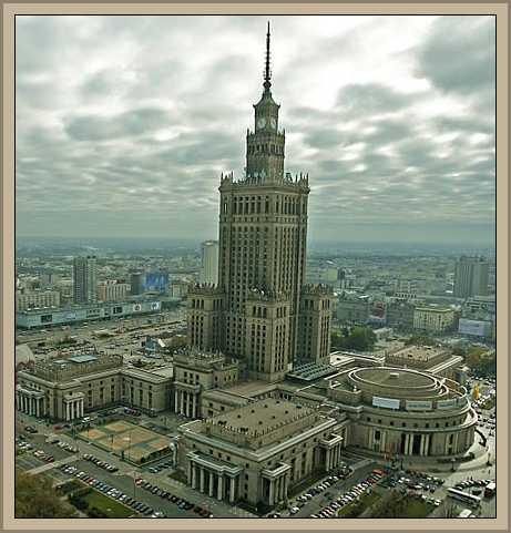 palacio de cultura de varsovia