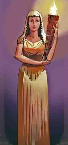 diosa vesta