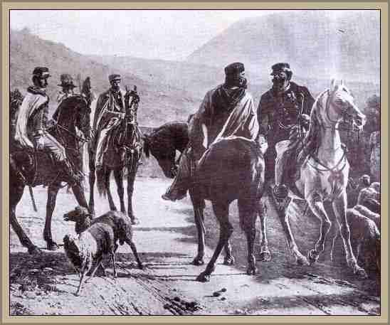 Encuentro de Victor Manuel II y Garibaldi