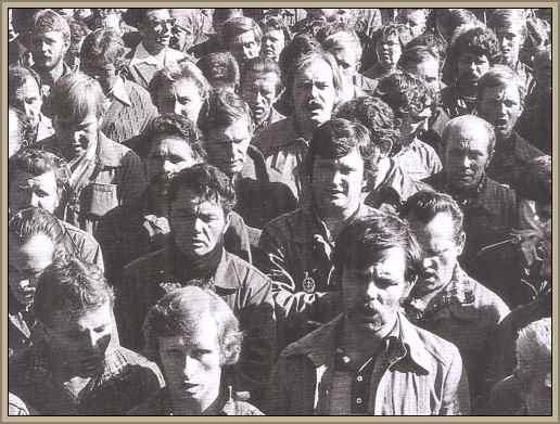 obreros de polonia lech walesa