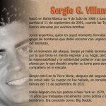 Heroe Argentino del 11 de Septiembre Sergio Villanueva Torres Gemelas